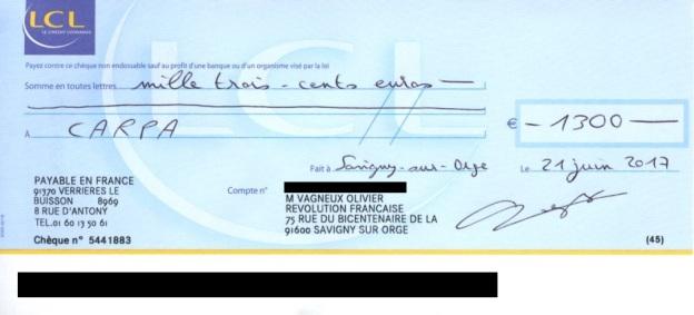 ma r ponse l avocat du maire de savigny sur orge accompagn e des 1300 euros le savinien lib r. Black Bedroom Furniture Sets. Home Design Ideas