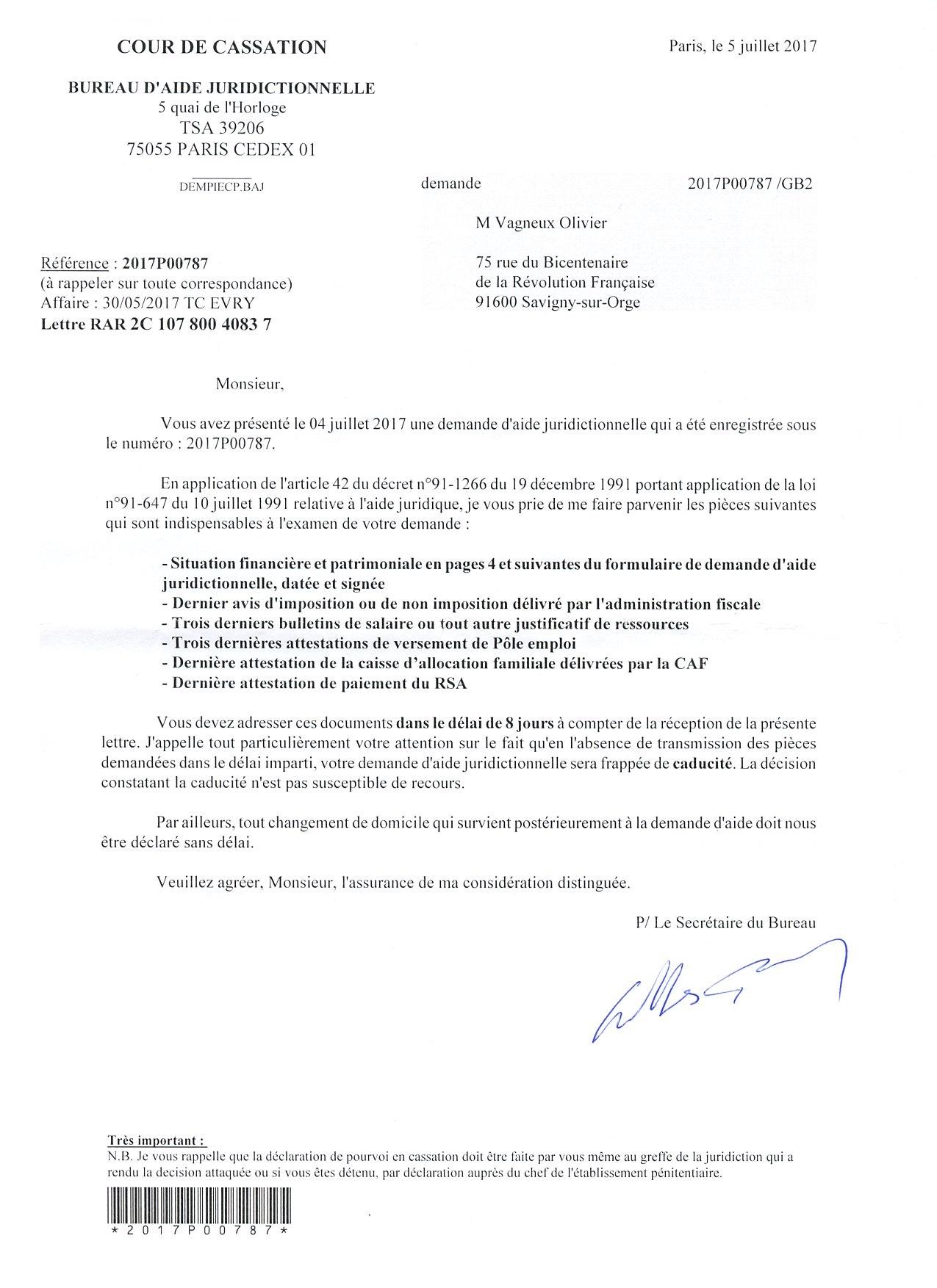 Bureau d aide juridictionnelle le savinien lib r - Bureau d aide psychologique universitaire ...