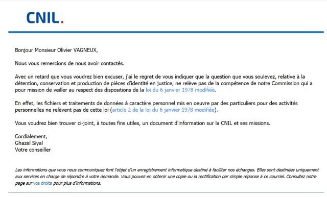 Particuliers Pas De Declaration Cnil Pour Collecter Des