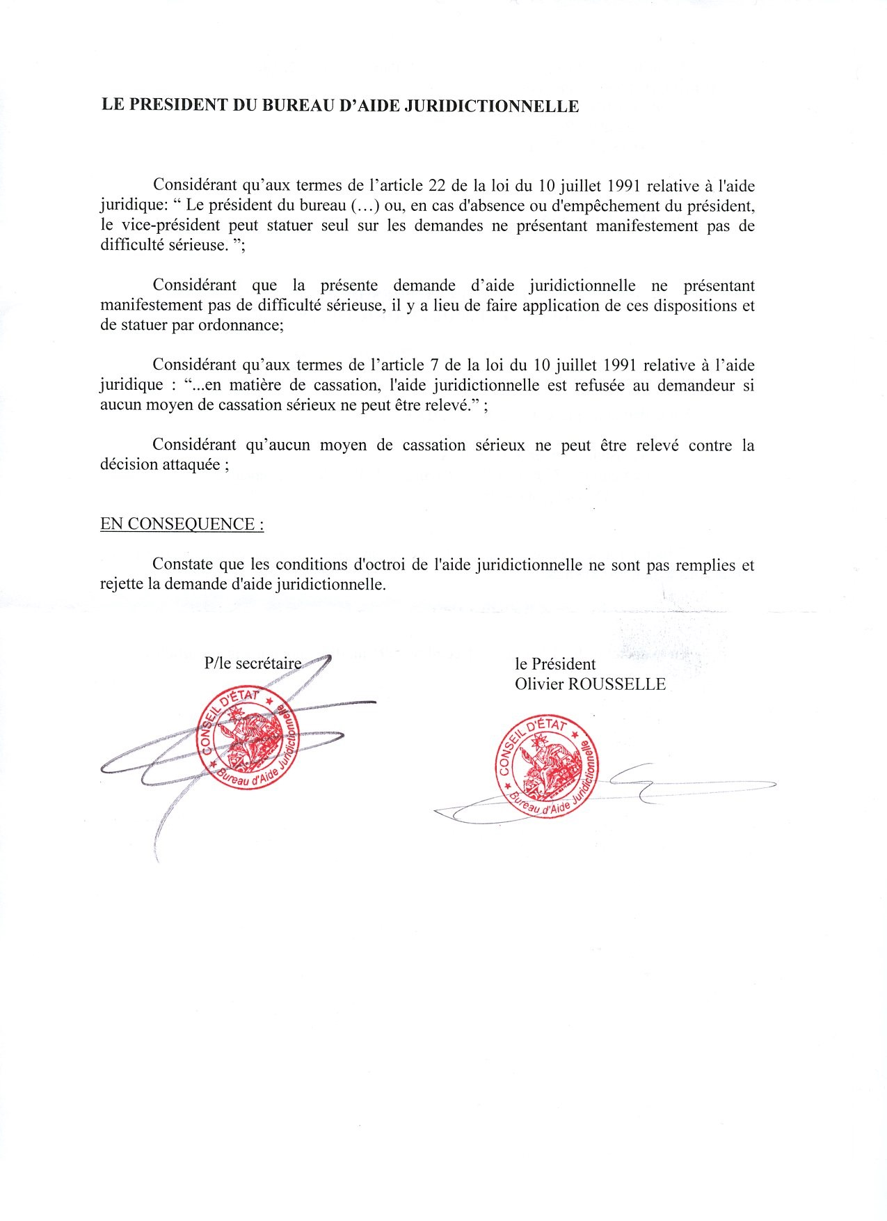 Bureau D Aide Juridictionnelle Le Savinien Libere